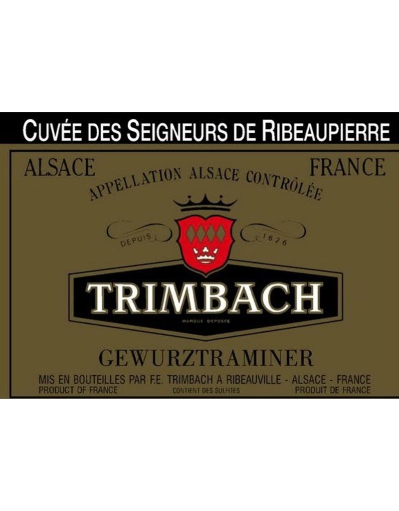 """Wine Gewurztraminer """"Vendanges Taardives"""", Trimbach, FR, 1998"""