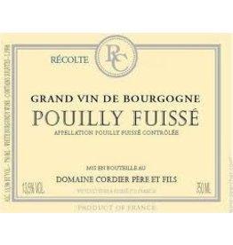 Wine Pouilly-Fuisse, Domaine Cordier Pere & Fils, Maconnais, FR, 2014