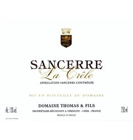 "Wine Sancerre ""Clos de la Crele"", Domaine Thomas, FR, 2014"