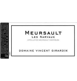 "Wine Meursault ""Les Narvaux"", Domaine Vincent Girardin, FR, 2014"