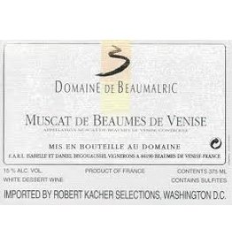 Wine Muscat Beaumes de Venise, Domaine de Beaumalric, FR, 2013 (375ml)