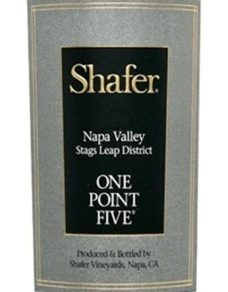 "Wine Cabernet Sauvignon ""One Point Five"", Shafer, Stag's Leap District, CA, 2015"