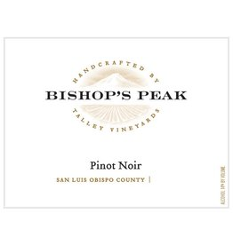 "Wine Pinot Noir ""Bishop's Peak"", Talley Vineyards, San Luis Obispo, CA, 2014"