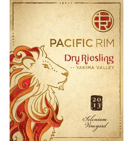 "Wine Riesling-Dry ""Selenium Vineyard"", Pacific Rim, Yakima Valley, WA, 2013"