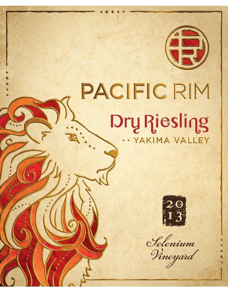 """Wine Riesling-Dry """"Selenium Vineyard"""", Pacific Rim, Yakima Valley, WA, 2013"""