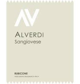 Wine Sangiovese, Alverdi, Rubicone, IT, 2015