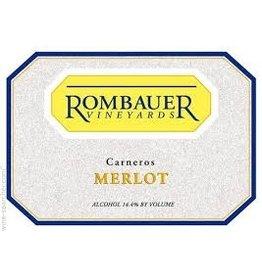 Wine Merlot, Rombauer, Carneros, CA, 2012