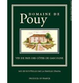 Wine Domaine de Pouy, Cotes du Gascogne, FR, 2016