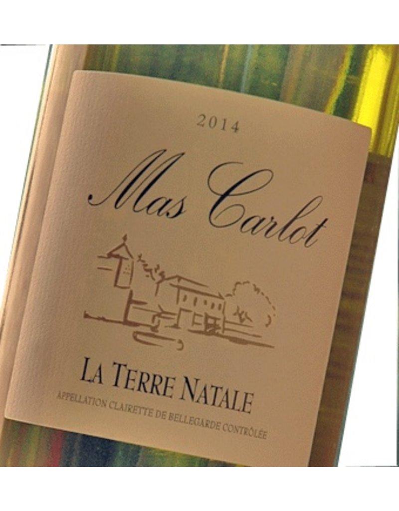 "Wine Mas Carlot ""La Terre Natale"", Clairette de Bellgarde, FR, 2014"