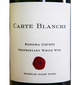 "Wine White Blend ""Proprietary"", Carte Blanche, Sonoma County, CA, 2013"