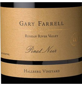"Wine Pinot Noir ""Hallberg Vineyard"", Gary Farrell, Russian River Valley, CA, 2014"