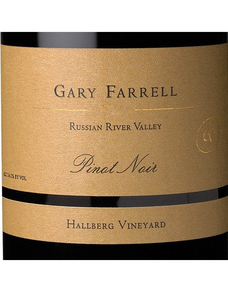 "Pinot Noir ""Hallberg Vineyard"", Gary Farrell, Russian River Valley, CA, 2014"