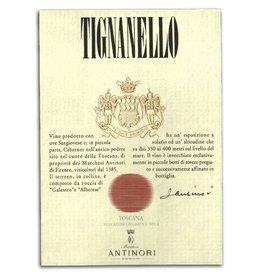 """Wine Red Blend """"Tignanello"""", Marchesi Antinori, Tuscany, IT, 2014"""