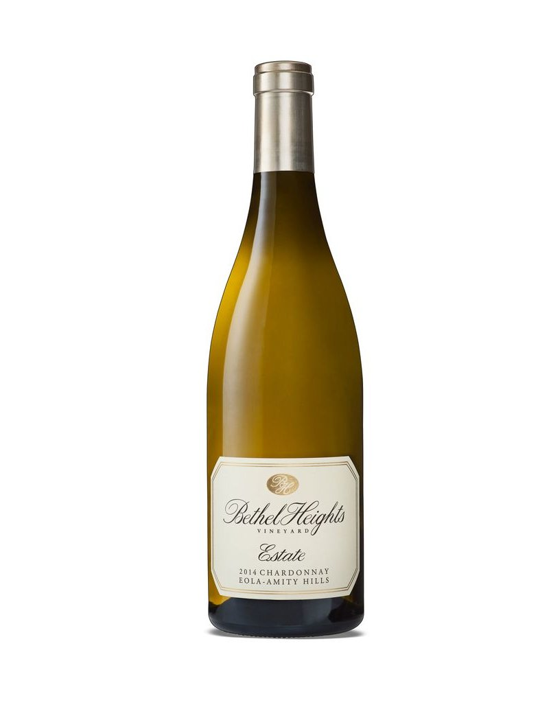 "Wine Chardonnay ""Estate"", Bethel Heights Vineyards, Willamette Valley, OR, 2013"
