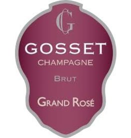 "Wine Champagne ""Grand Rose Brut"", Gosset, FR, NV"
