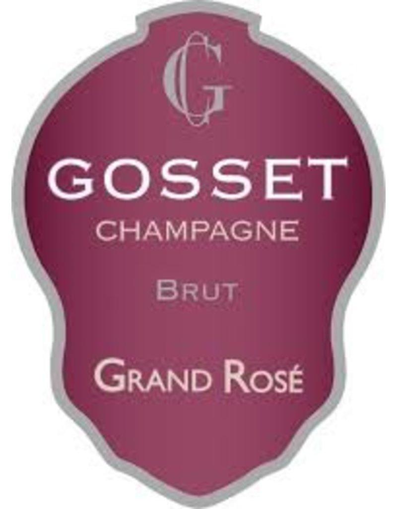 """Wine Champagne """"Grand Rose Brut"""", Gosset, FR, NV"""
