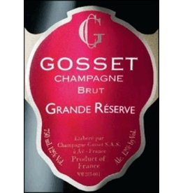 """Champagne """"Grand Reserve Brut"""", Gosset, FR, NV"""