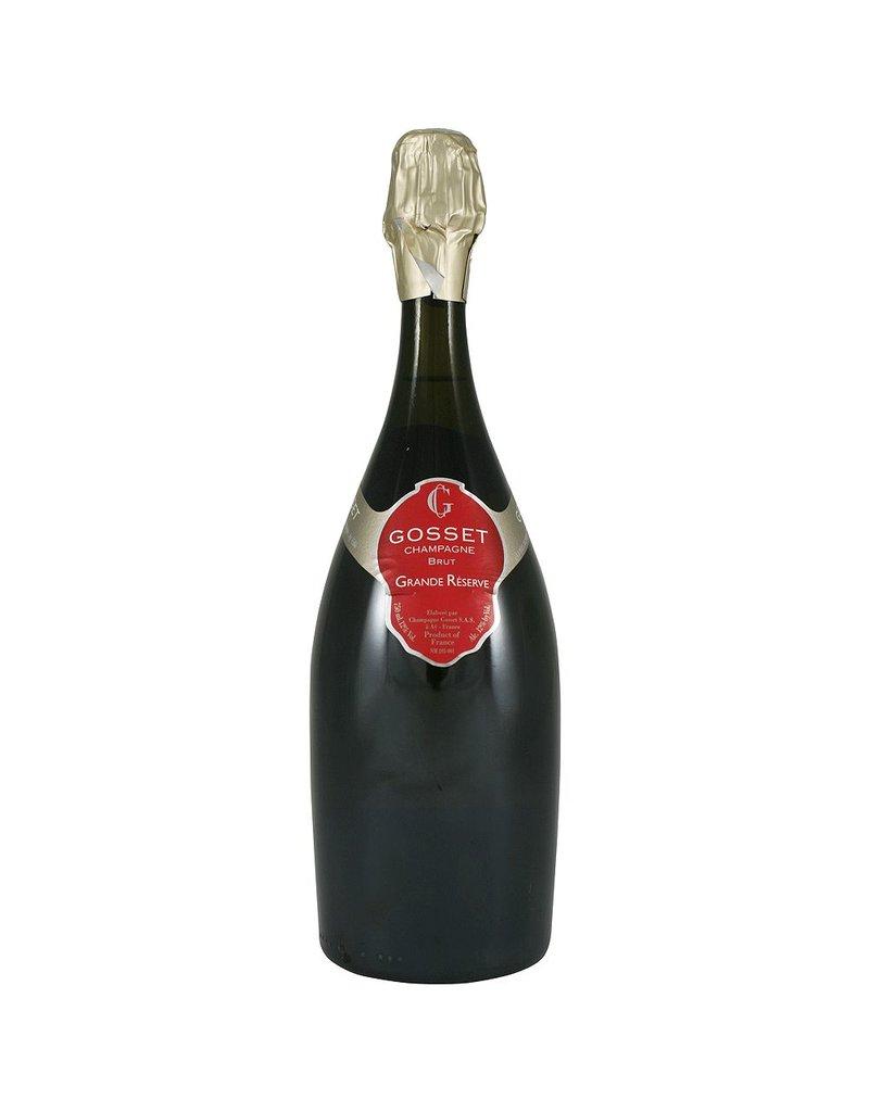 """Wine Champagne """"Grand Reserve Brut"""", Gosset, FR, NV"""