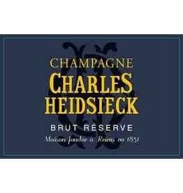 """Wine Champagne """"Brut Reserve"""", Charles Heidsiek, NV"""