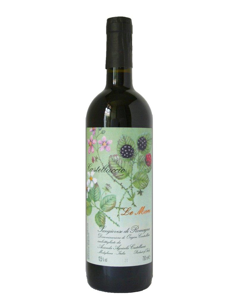 """Wine Sangiovese di Romagna """"Le More"""", Castelluccio, IT, 2014"""