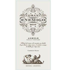 """Wine Cabernet Franc """"Agrelo Single Vineyard"""" Gran Enemigo, Mendoza, AR, 2010"""