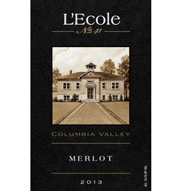 Wine Merlot, L'Ecole No 41, Columbia Valley, WA, 2013