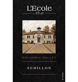 Wine Semillon, L'Ecole No 41, Columbia Valley, WA, 2014