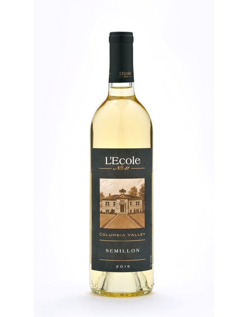 Wine Semillon, L'Ecole No 41, Columbia Valley, WA, 2015