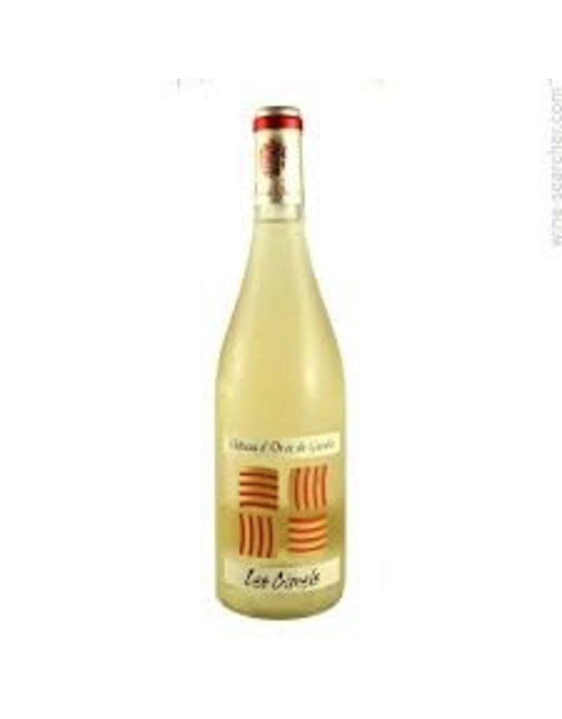 """Wine White Rhone """"Les Cimels"""" Chateau d'Or et de Gueules, Costieres de Nimes, FR, 2015"""