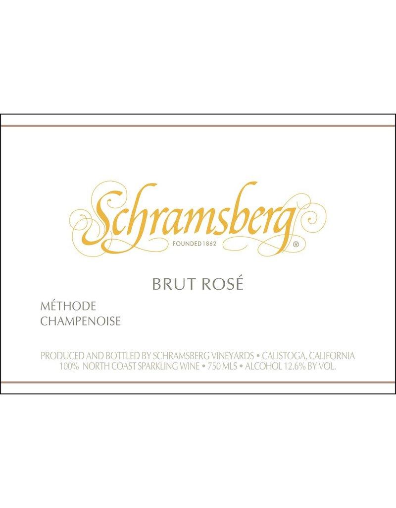 "Wine Sparkling ""Brut Rose"", Schramsberg, North Coast, CA, 2014"