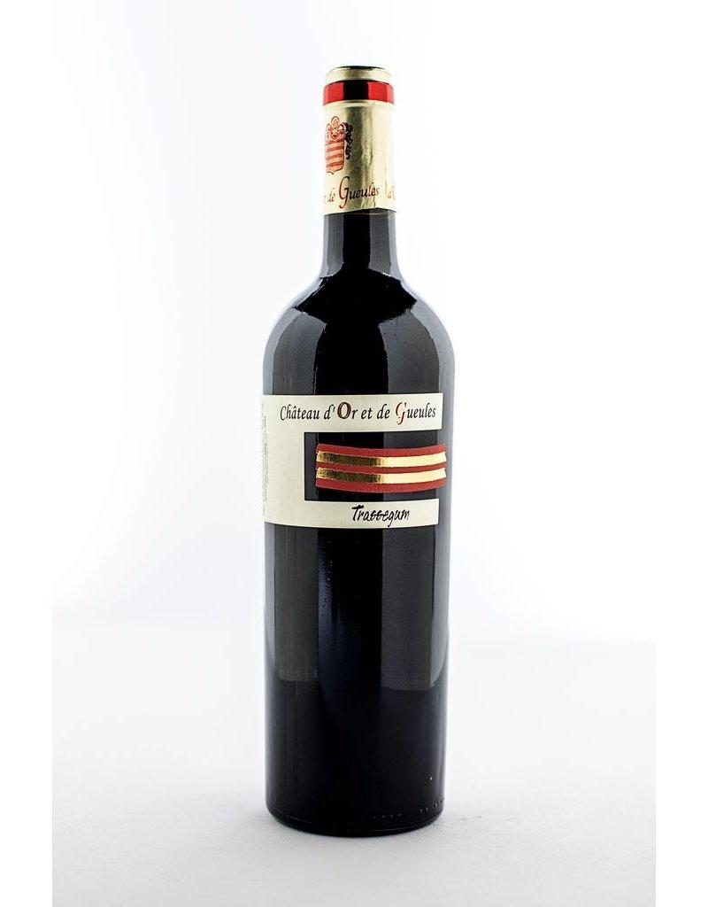 """Wine Rhone Blend """"Trassegum"""" Chateau d'Or et de Gueules, Costieres de Nimes, FR, 2013"""