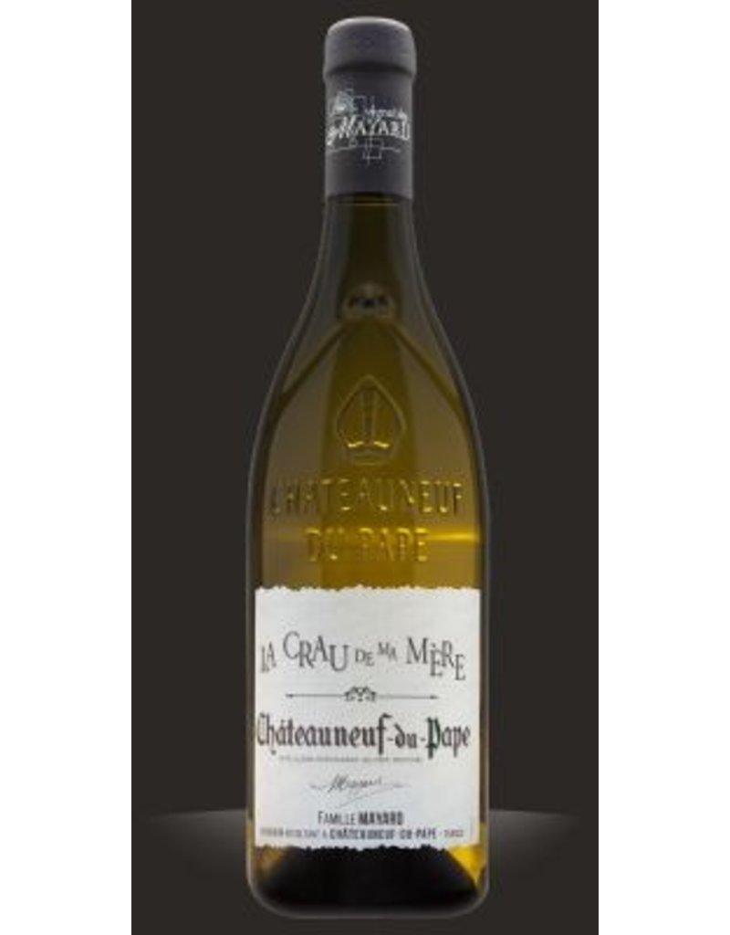 """Wine Chateauneuf-du-Pape Blanc """"La Crau de ma Mere"""", Vignobles Mayard, FR, 2015"""