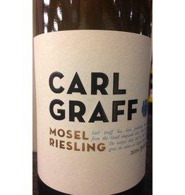 """Wine Riesling """"Graacher Himmelreich Spatlese"""", Carl Graff, Mosel, DE, 2016"""