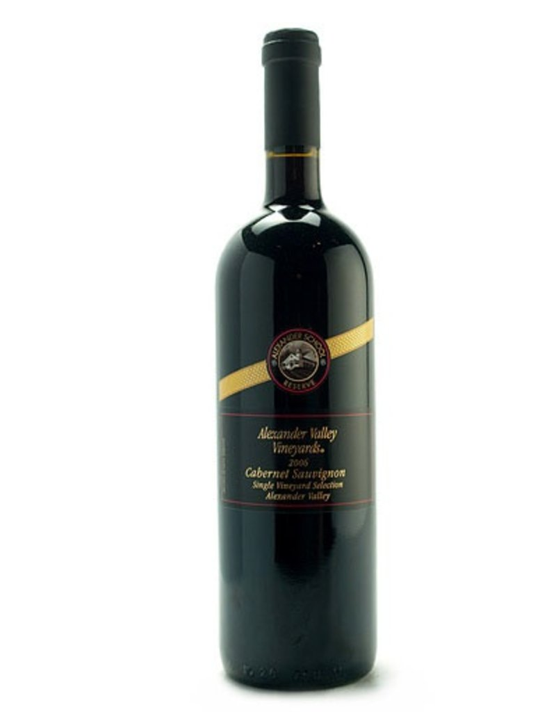 "Wine Cabernet Sauvignon ""Alexander School Reserve"", Alexander Valley Vineyards, CA, 2013"