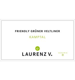 "Wine Gruner Veltliner ""Friendly"", Laurenz V., Kamptal, AT"