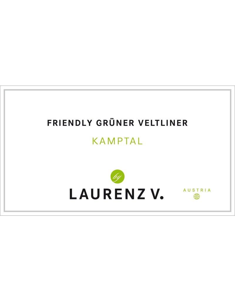 """Wine Gruner Veltliner """"Friendly"""", Laurenz V., Kamptal, AT"""