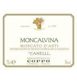 """Wine Moscato d'Asti """"Moncalvina"""", Coppo, Canelli, IT, 2015"""