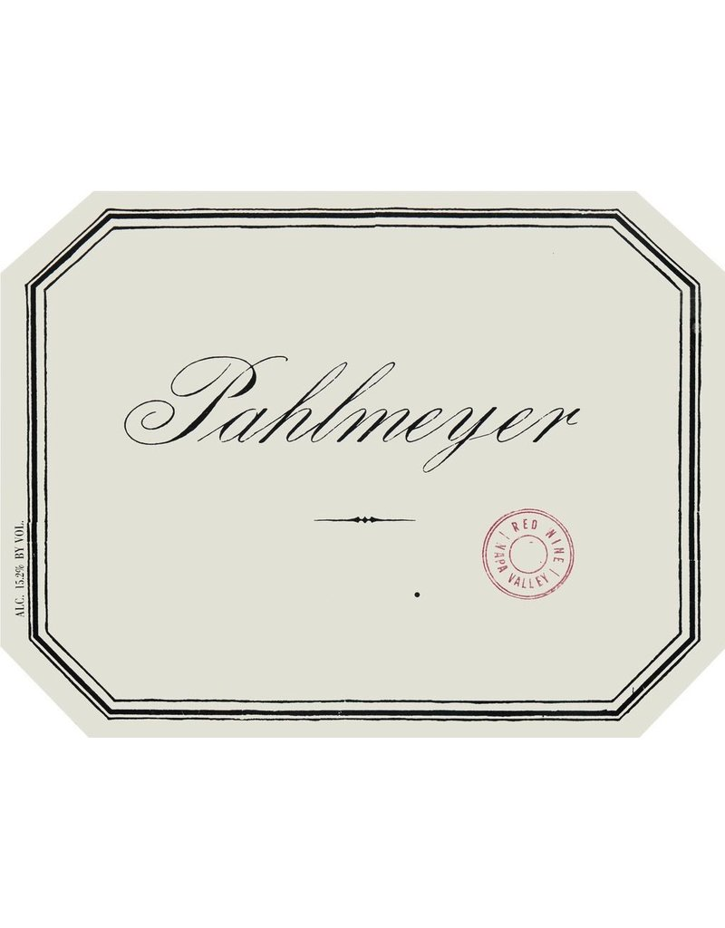 """Wine Red Blend """"Proprietary Red"""", Pahlmeyer, Napa Valley, CA, 2013"""