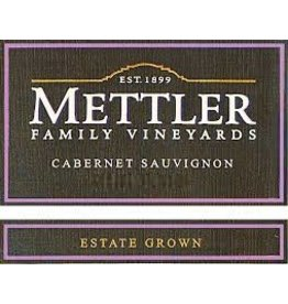 "Cabernet Sauvignon ""Estate Grown"", Mettler, Lodi, CA, 2014"