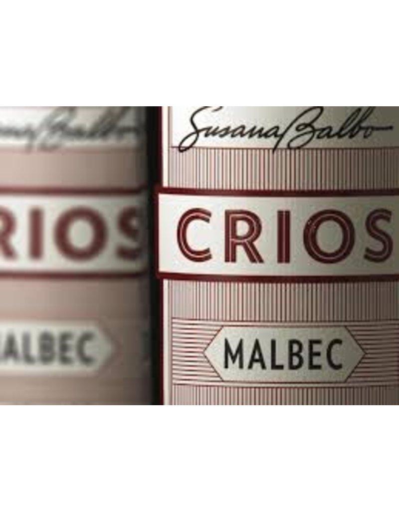 """Wine Malbec """"Crios"""" Susana Balbo, Mendoza, AR, 2015"""