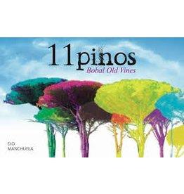 "Wine Bobal ""Old Vine"", 11 Pinos, Manshuela, ES, 2014"
