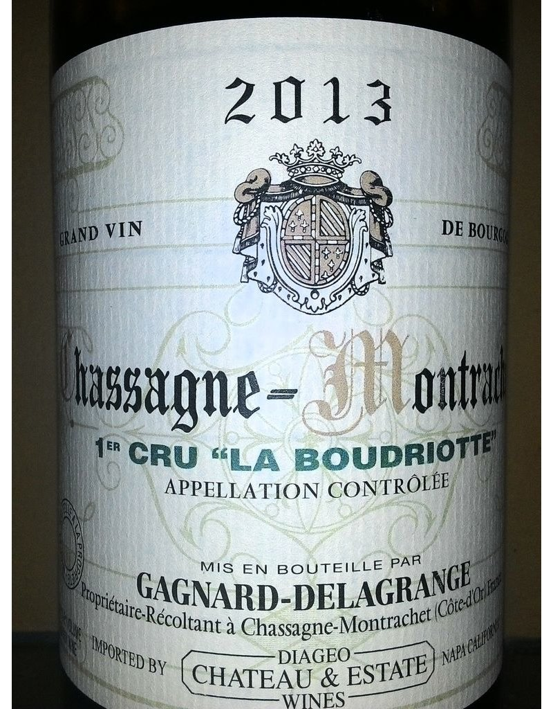 Wine Chassagne-Montrachet 1er Cru La Boudriotte, Domaine Gagnard-Delagrange, FR, 2013