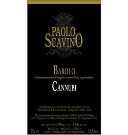 "Wine Barolo ""Cannubi"", Paolo Scavino, IT, 2013"