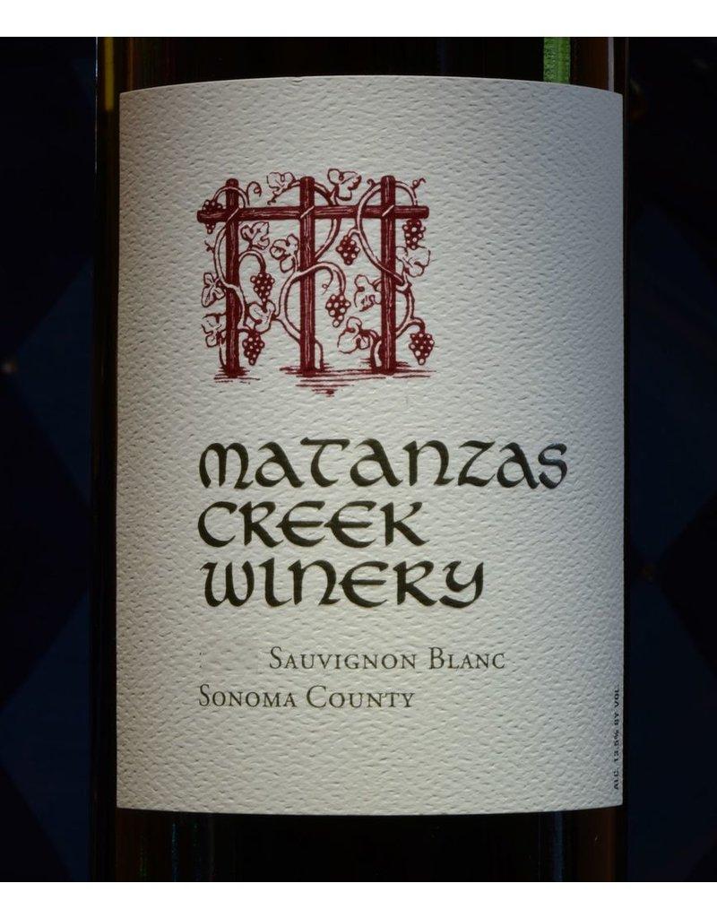 Sauvignon Blanc, Matanzas Creek Winery, Sonoma County, CA, 2015