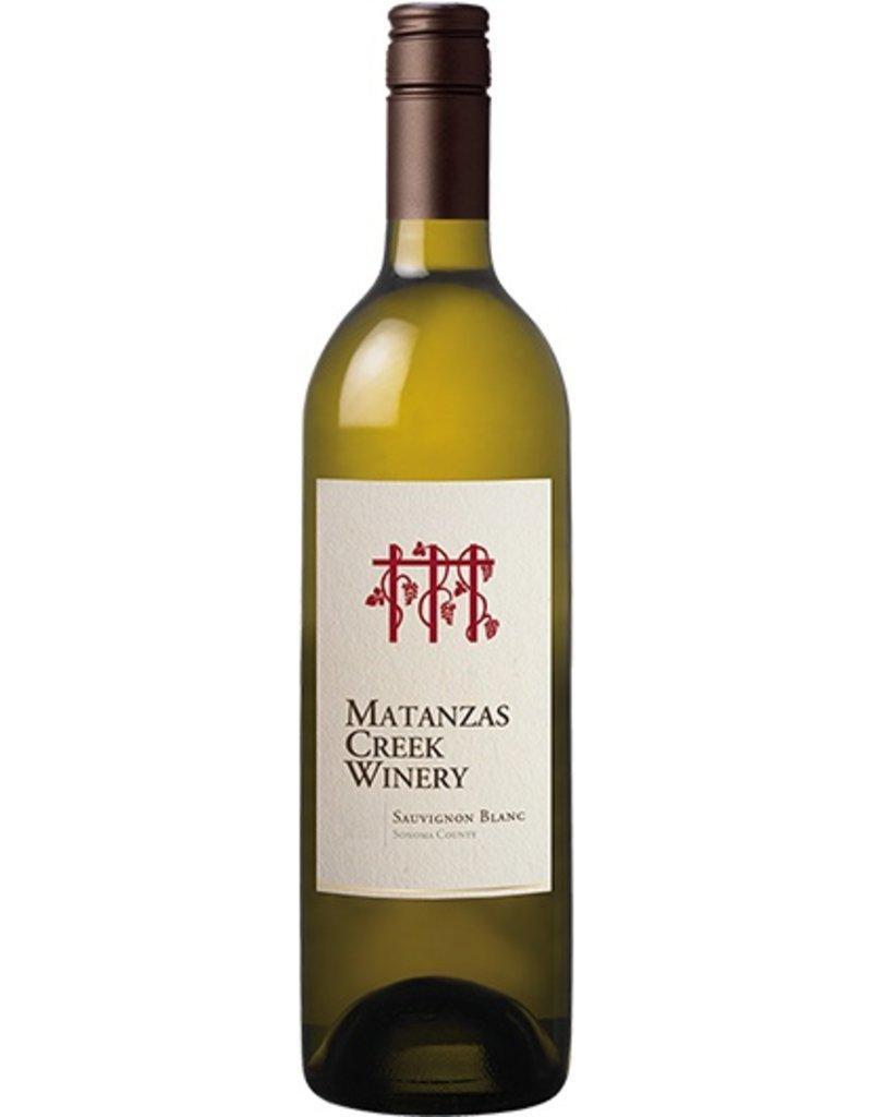 Wine Sauvignon Blanc, Matanzas Creek Winery, Sonoma County, CA, 2015