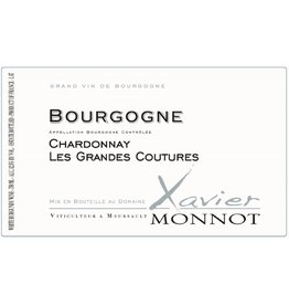 "Wine Bourgogne Blanc ""Les Grands Courtures"", Xavier Monnot, FR, 2014"