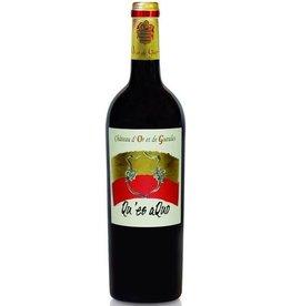 """Wine Chateau d'Or et de Gueules """"Qu'es Aquo"""", Costieres de Nimes, FR, 2014"""