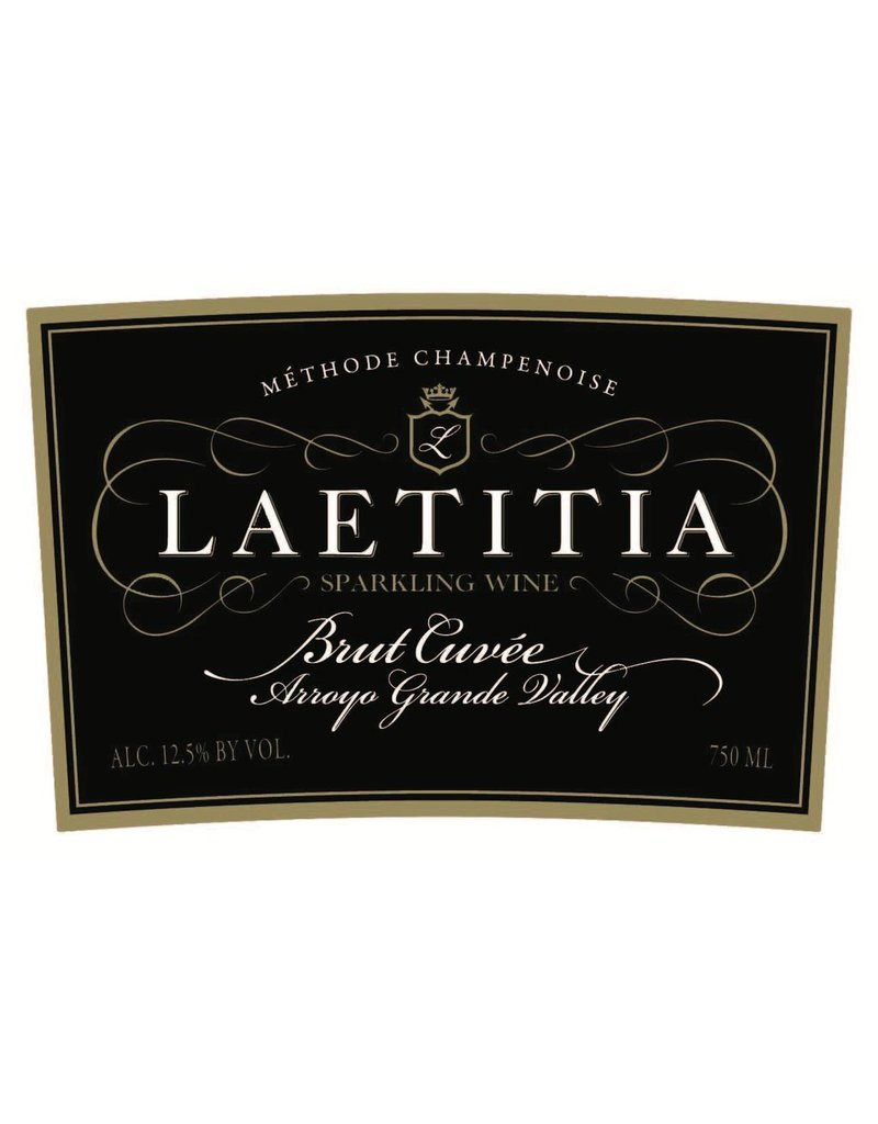 "Wine Sparkling ""Brut Cuvee"", Laetitia, Arroyo Grande Valley, CA, NV"