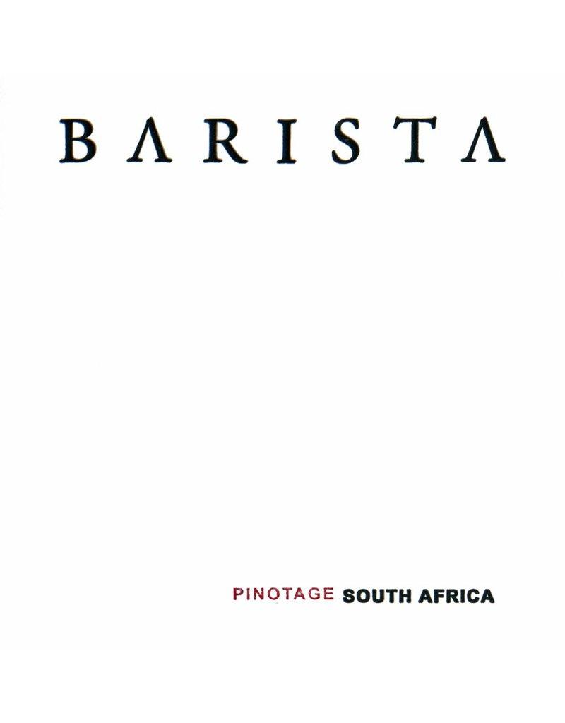 Wine Pinotage, Barista, Western Cape, ZA, 2016