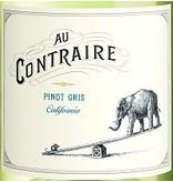 Wine Pinot Gris, Au Contrair, CA, 2014